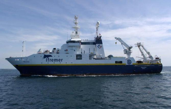 L'image du Jour : A bord du navire Thalassa pour la campagne PHOENIX 2018 ! By Jack35 13