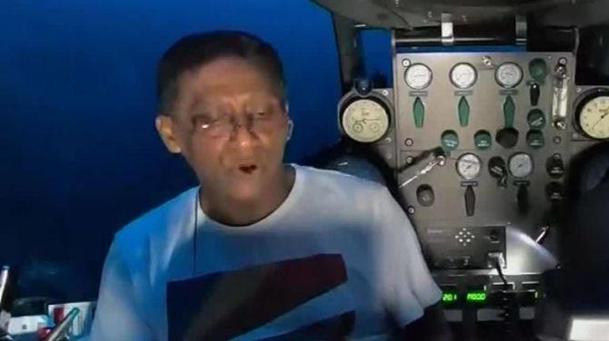 Seychelles : un discours sous l'océan pour alerter sur l'urgence climatique ! By Jack35 1-1