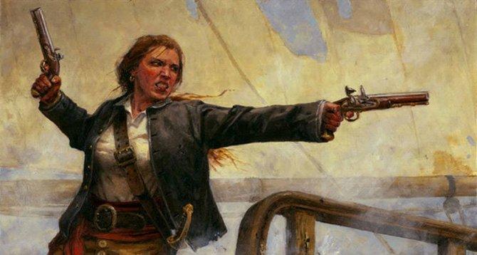 Les femmes pirates : Grace O'Malley (Gráinne Ní Mháille) By Jack35 1-9